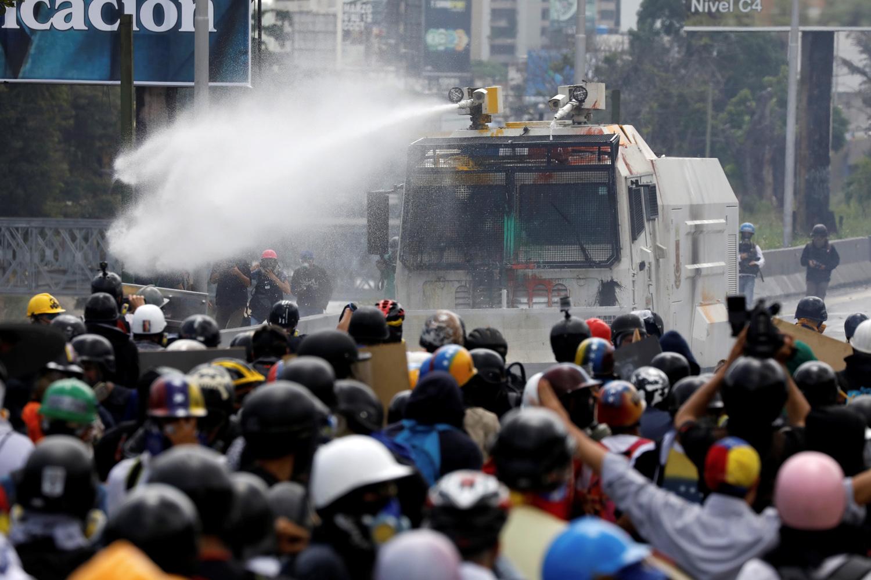Столкновение правых сил с полицией