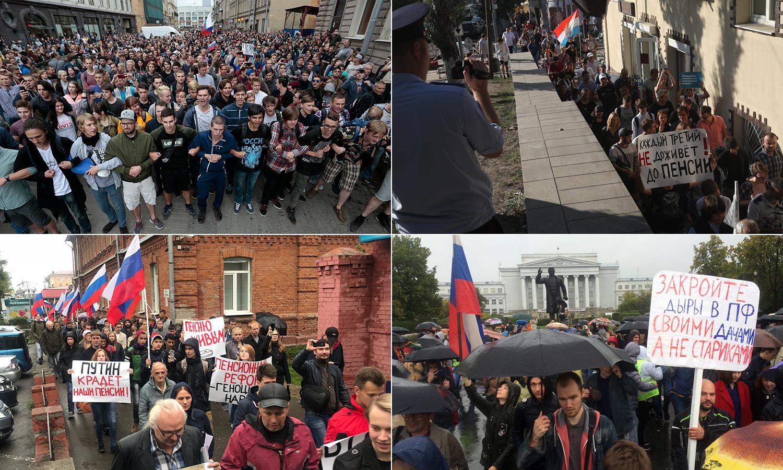 протесты 9 сентября 2018