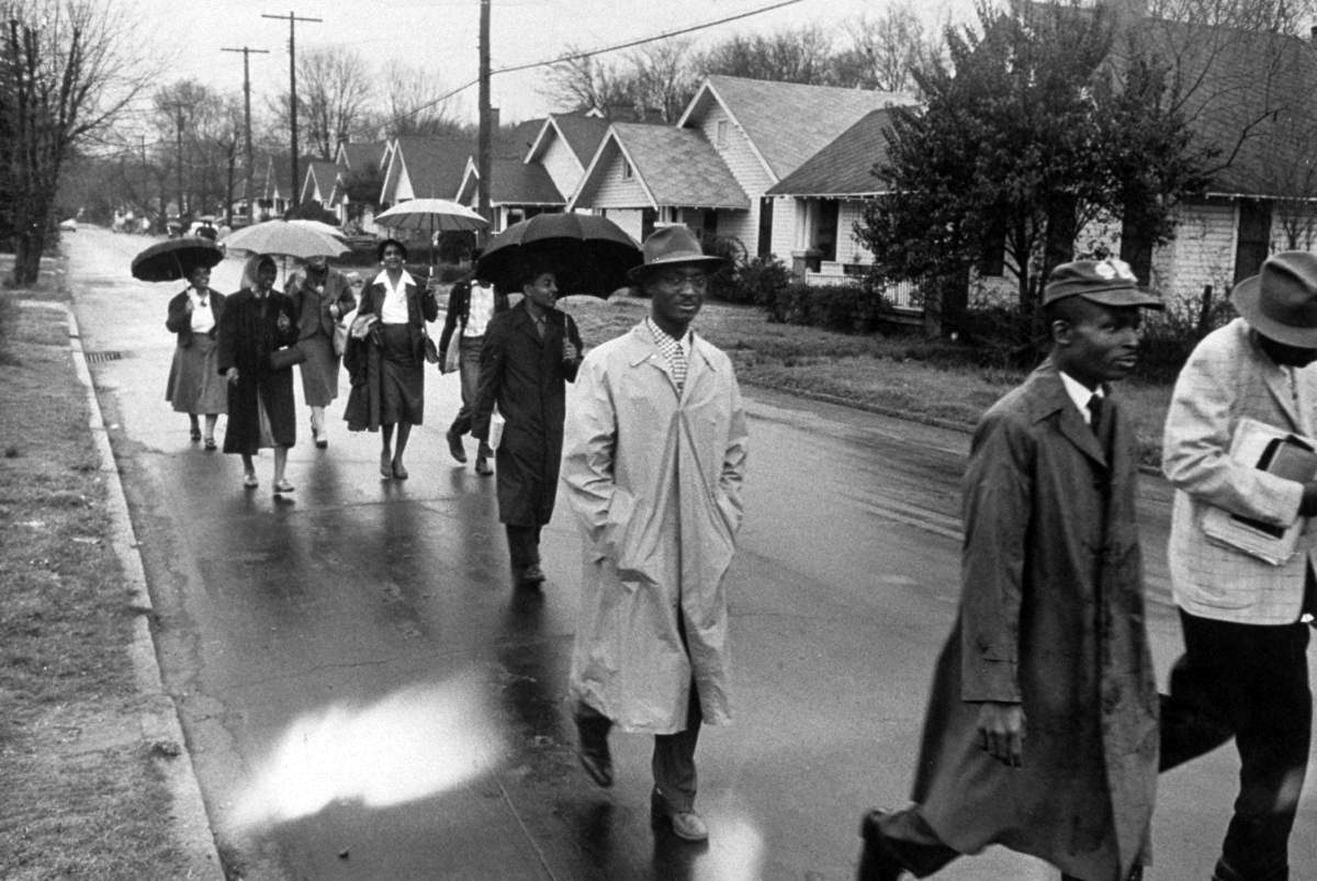 the modest proposals in the montgomery bus boycott ad by the montgomery improvement association in l