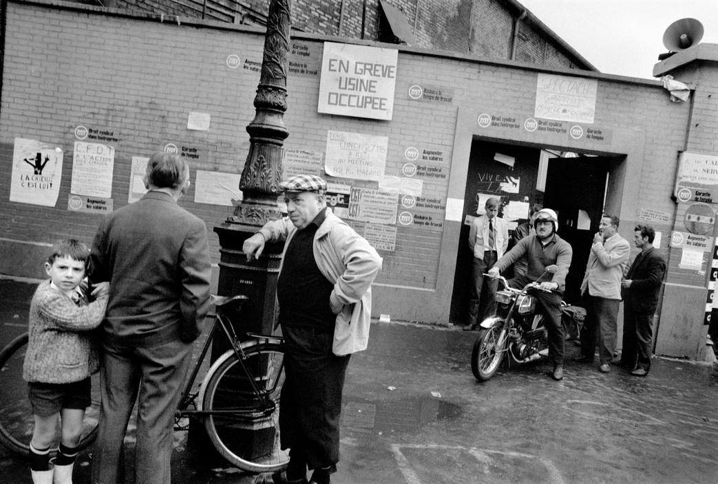 Завод Рено, Май 1968 во Франции