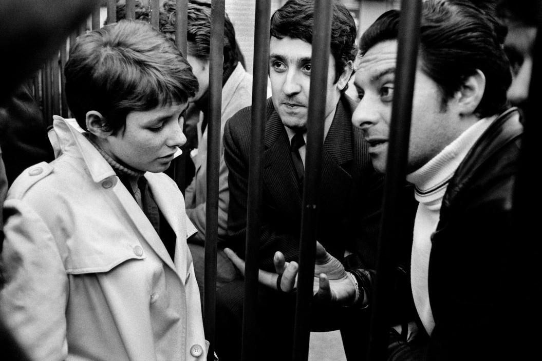 Студенты общаются с рабочими, Красный май 1968