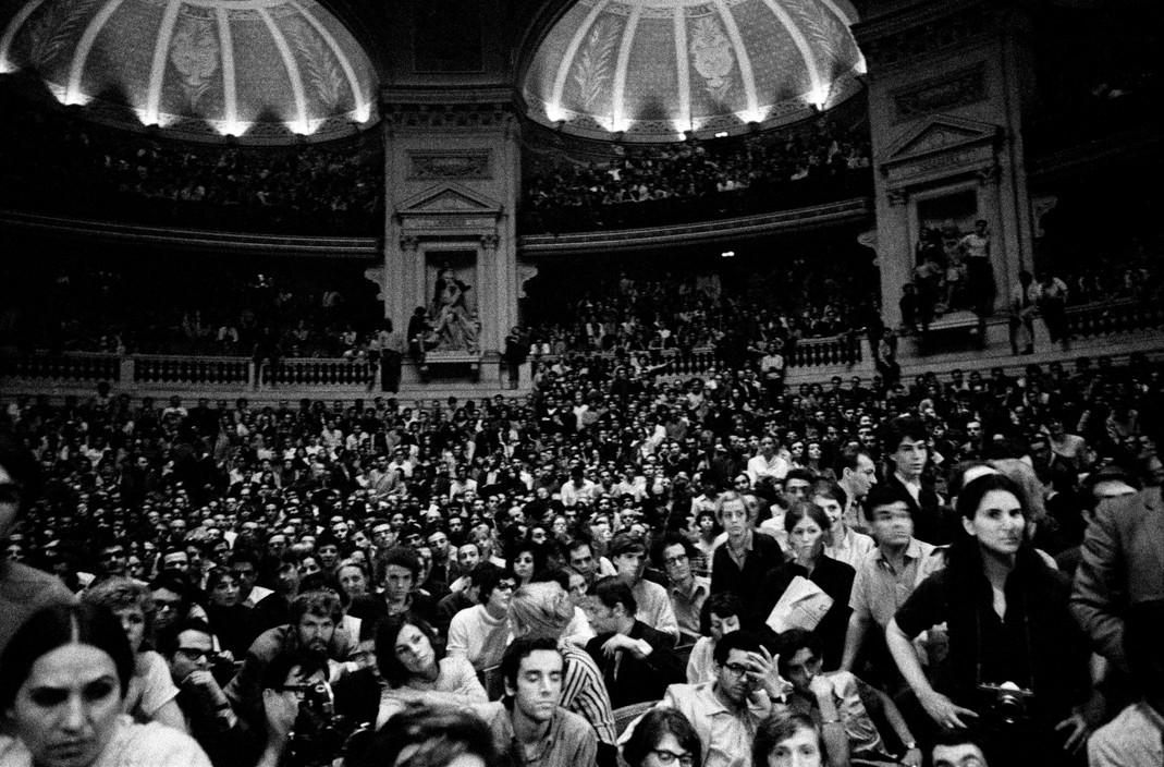 Студенты организуют Ассамблею, Май 1968