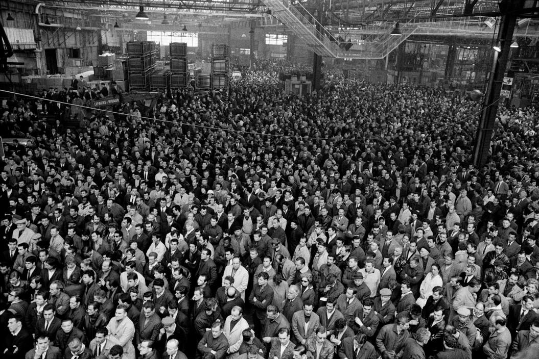 Рабочие завода Рено, Красный май 1968