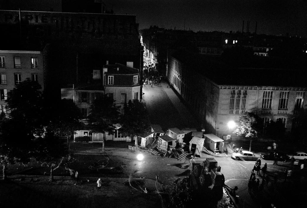 Баррикады Красного мая 1968