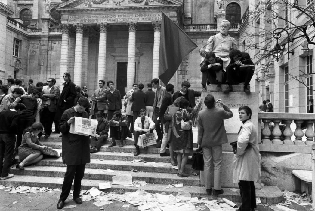 Франция, май 1968, университет Сорбонны