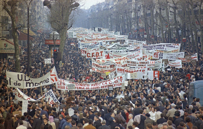 Демонстрация, Май 1968