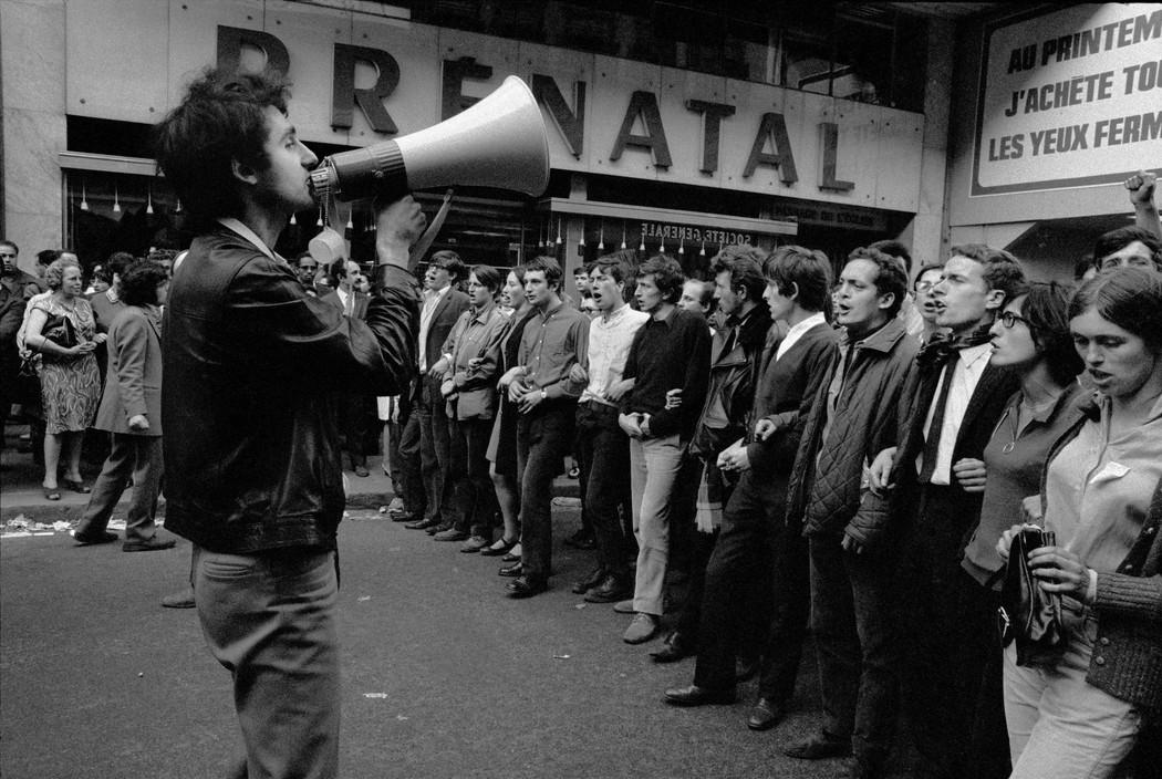 Выступления студентов, Красный май 1968